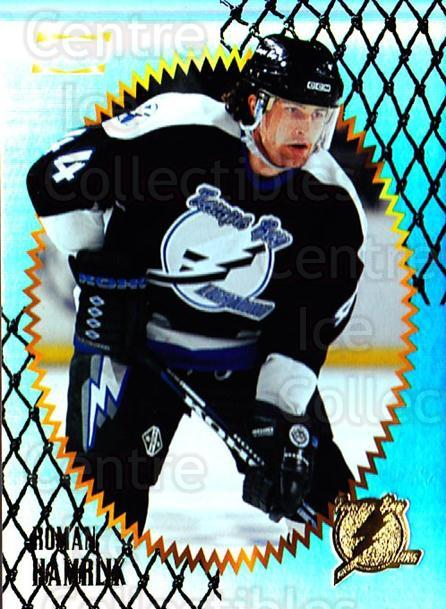 1996-97 Summit Premium Stock Shinny Front #132 Roman Hamrlik<br/>4 In Stock - $1.00 each - <a href=https://centericecollectibles.foxycart.com/cart?name=1996-97%20Summit%20Premium%20Stock%20Shinny%20Front%20%23132%20Roman%20Hamrlik...&quantity_max=4&price=$1.00&code=267447 class=foxycart> Buy it now! </a>