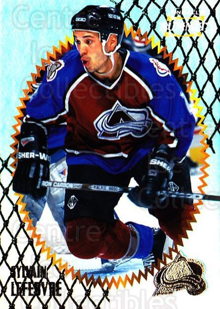 1996-97 Summit Premium Stock Shinny Front #149 Sylvain Lefebvre<br/>5 In Stock - $1.00 each - <a href=https://centericecollectibles.foxycart.com/cart?name=1996-97%20Summit%20Premium%20Stock%20Shinny%20Front%20%23149%20Sylvain%20Lefebvr...&quantity_max=5&price=$1.00&code=267464 class=foxycart> Buy it now! </a>