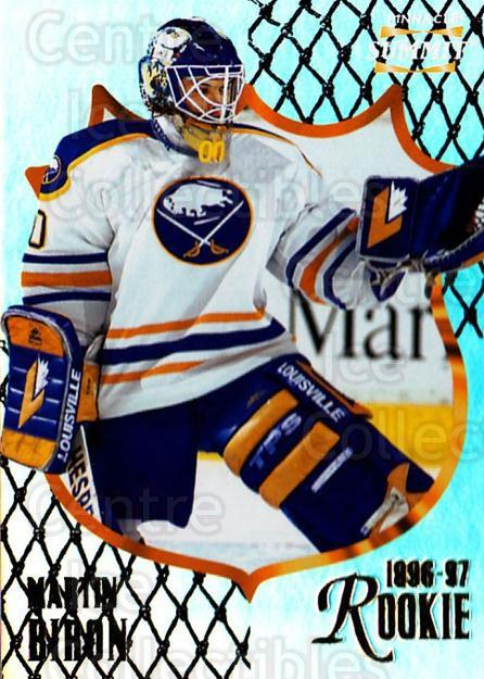 1996-97 Summit Premium Stock Shinny Front #179 Martin Biron<br/>1 In Stock - $1.00 each - <a href=https://centericecollectibles.foxycart.com/cart?name=1996-97%20Summit%20Premium%20Stock%20Shinny%20Front%20%23179%20Martin%20Biron...&quantity_max=1&price=$1.00&code=267494 class=foxycart> Buy it now! </a>