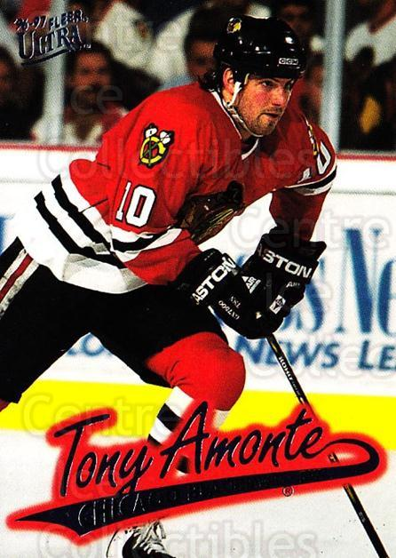 1996-97 Ultra #28 Tony Amonte<br/>4 In Stock - $1.00 each - <a href=https://centericecollectibles.foxycart.com/cart?name=1996-97%20Ultra%20%2328%20Tony%20Amonte...&quantity_max=4&price=$1.00&code=267543 class=foxycart> Buy it now! </a>