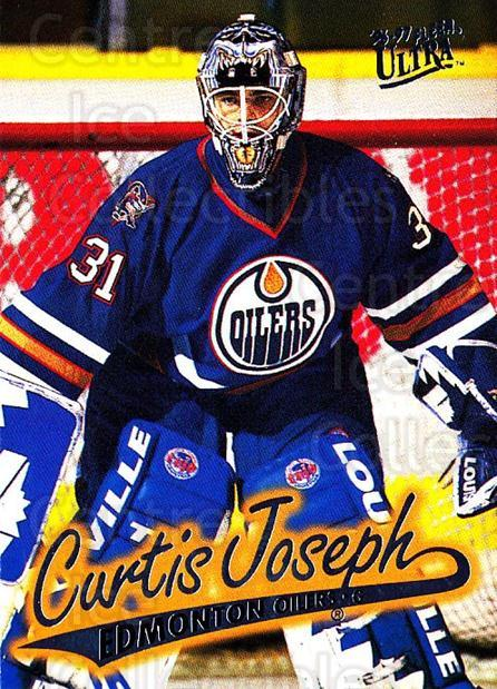 1996-97 Ultra #59 Curtis Joseph<br/>2 In Stock - $1.00 each - <a href=https://centericecollectibles.foxycart.com/cart?name=1996-97%20Ultra%20%2359%20Curtis%20Joseph...&quantity_max=2&price=$1.00&code=267574 class=foxycart> Buy it now! </a>