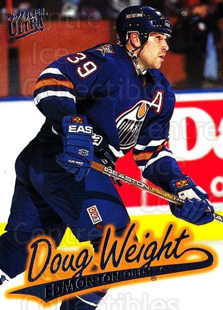 1996-97 Ultra #63 Doug Weight<br/>3 In Stock - $1.00 each - <a href=https://centericecollectibles.foxycart.com/cart?name=1996-97%20Ultra%20%2363%20Doug%20Weight...&quantity_max=3&price=$1.00&code=267578 class=foxycart> Buy it now! </a>