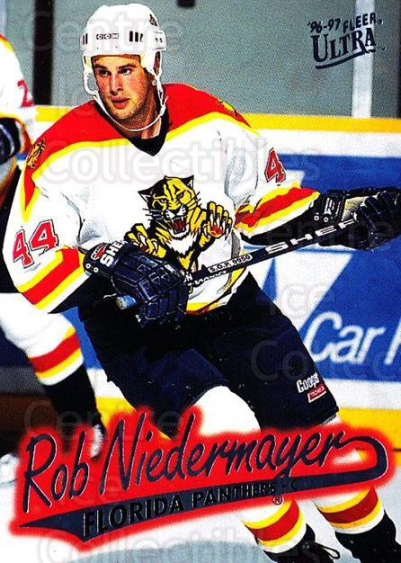 1996-97 Ultra #67 Rob Niedermayer<br/>4 In Stock - $1.00 each - <a href=https://centericecollectibles.foxycart.com/cart?name=1996-97%20Ultra%20%2367%20Rob%20Niedermayer...&quantity_max=4&price=$1.00&code=267582 class=foxycart> Buy it now! </a>
