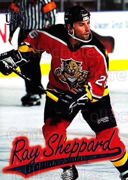 1996-97 Ultra #68 Ray Sheppard<br/>4 In Stock - $1.00 each - <a href=https://centericecollectibles.foxycart.com/cart?name=1996-97%20Ultra%20%2368%20Ray%20Sheppard...&quantity_max=4&price=$1.00&code=267583 class=foxycart> Buy it now! </a>