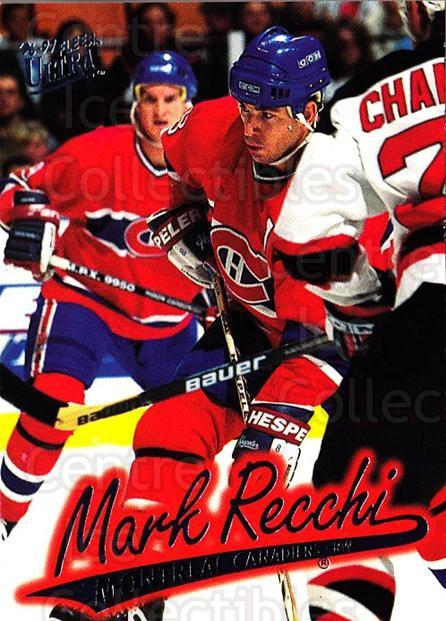 1996-97 Ultra #88 Mark Recchi<br/>4 In Stock - $1.00 each - <a href=https://centericecollectibles.foxycart.com/cart?name=1996-97%20Ultra%20%2388%20Mark%20Recchi...&quantity_max=4&price=$1.00&code=267603 class=foxycart> Buy it now! </a>