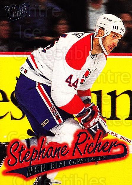 1996-97 Ultra #89 Stephane Richer<br/>3 In Stock - $1.00 each - <a href=https://centericecollectibles.foxycart.com/cart?name=1996-97%20Ultra%20%2389%20Stephane%20Richer...&quantity_max=3&price=$1.00&code=267604 class=foxycart> Buy it now! </a>
