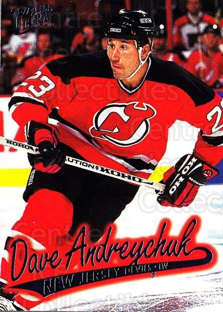 1996-97 Ultra #92 Dave Andreychuk<br/>4 In Stock - $1.00 each - <a href=https://centericecollectibles.foxycart.com/cart?name=1996-97%20Ultra%20%2392%20Dave%20Andreychuk...&quantity_max=4&price=$1.00&code=267607 class=foxycart> Buy it now! </a>