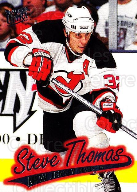1996-97 Ultra #97 Steve Thomas<br/>4 In Stock - $1.00 each - <a href=https://centericecollectibles.foxycart.com/cart?name=1996-97%20Ultra%20%2397%20Steve%20Thomas...&quantity_max=4&price=$1.00&code=267612 class=foxycart> Buy it now! </a>