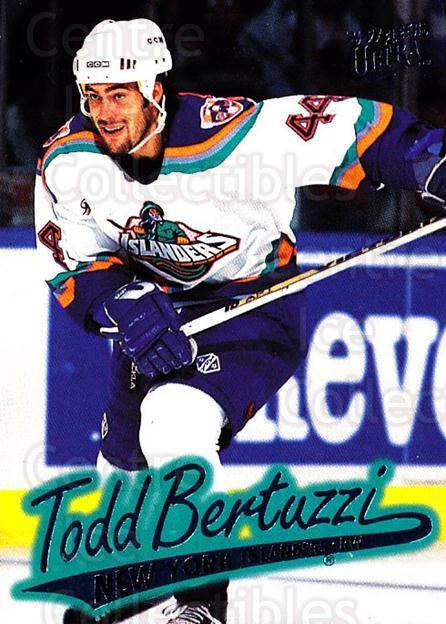 1996-97 Ultra #99 Todd Bertuzzi<br/>4 In Stock - $1.00 each - <a href=https://centericecollectibles.foxycart.com/cart?name=1996-97%20Ultra%20%2399%20Todd%20Bertuzzi...&quantity_max=4&price=$1.00&code=267614 class=foxycart> Buy it now! </a>