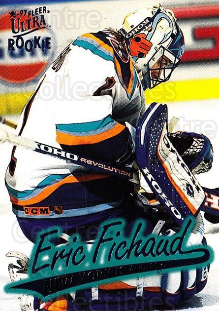 1996-97 Ultra #100 Eric Fichaud<br/>4 In Stock - $1.00 each - <a href=https://centericecollectibles.foxycart.com/cart?name=1996-97%20Ultra%20%23100%20Eric%20Fichaud...&price=$1.00&code=267615 class=foxycart> Buy it now! </a>
