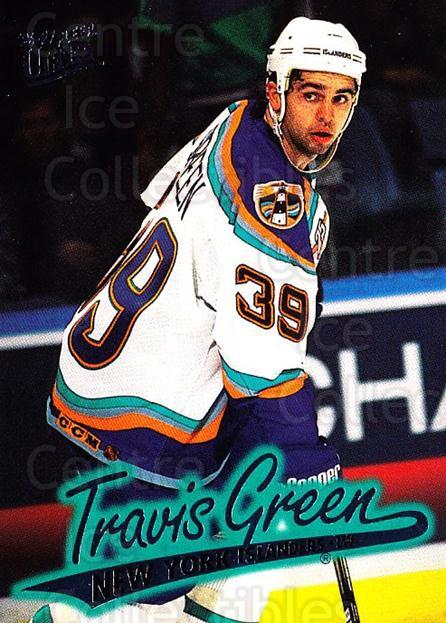1996-97 Ultra #101 Travis Green<br/>4 In Stock - $1.00 each - <a href=https://centericecollectibles.foxycart.com/cart?name=1996-97%20Ultra%20%23101%20Travis%20Green...&quantity_max=4&price=$1.00&code=267616 class=foxycart> Buy it now! </a>