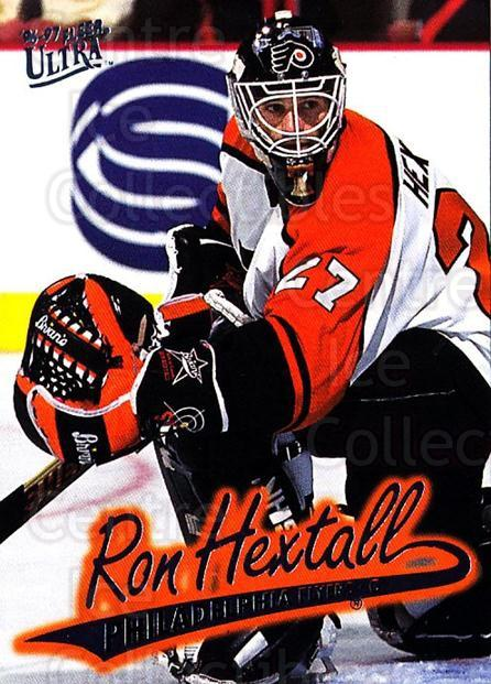 1996-97 Ultra #124 Ron Hextall<br/>1 In Stock - $1.00 each - <a href=https://centericecollectibles.foxycart.com/cart?name=1996-97%20Ultra%20%23124%20Ron%20Hextall...&quantity_max=1&price=$1.00&code=267639 class=foxycart> Buy it now! </a>