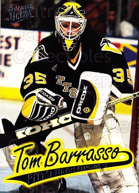 1996-97 Ultra #138 Tom Barrasso<br/>1 In Stock - $1.00 each - <a href=https://centericecollectibles.foxycart.com/cart?name=1996-97%20Ultra%20%23138%20Tom%20Barrasso...&price=$1.00&code=267653 class=foxycart> Buy it now! </a>
