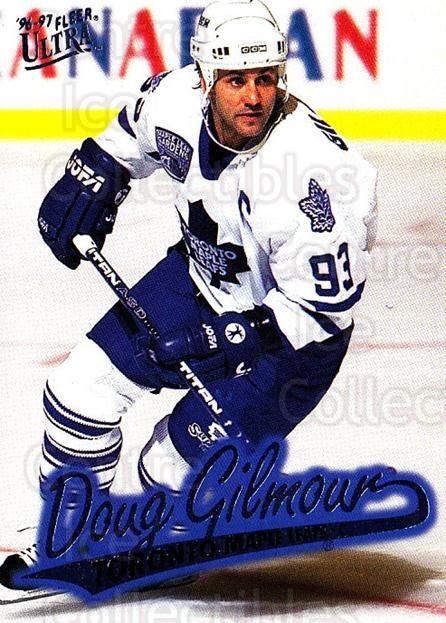 1996-97 Ultra #163 Doug Gilmour<br/>3 In Stock - $1.00 each - <a href=https://centericecollectibles.foxycart.com/cart?name=1996-97%20Ultra%20%23163%20Doug%20Gilmour...&quantity_max=3&price=$1.00&code=267678 class=foxycart> Buy it now! </a>