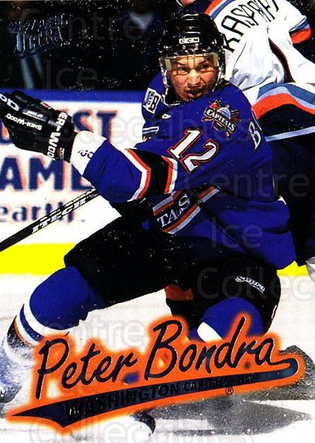 1996-97 Ultra #172 Peter Bondra<br/>4 In Stock - $1.00 each - <a href=https://centericecollectibles.foxycart.com/cart?name=1996-97%20Ultra%20%23172%20Peter%20Bondra...&quantity_max=4&price=$1.00&code=267687 class=foxycart> Buy it now! </a>