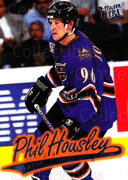 1996-97 Ultra #176 Phil Housley<br/>4 In Stock - $1.00 each - <a href=https://centericecollectibles.foxycart.com/cart?name=1996-97%20Ultra%20%23176%20Phil%20Housley...&quantity_max=4&price=$1.00&code=267691 class=foxycart> Buy it now! </a>