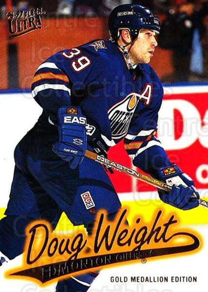 1996-97 Ultra Gold #63 Doug Weight<br/>5 In Stock - $2.00 each - <a href=https://centericecollectibles.foxycart.com/cart?name=1996-97%20Ultra%20Gold%20%2363%20Doug%20Weight...&quantity_max=5&price=$2.00&code=267758 class=foxycart> Buy it now! </a>