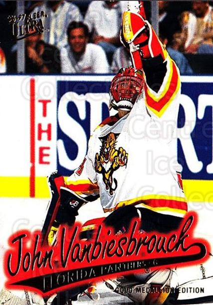 1996-97 Ultra Gold #70 John Vanbiesbrouck<br/>2 In Stock - $2.00 each - <a href=https://centericecollectibles.foxycart.com/cart?name=1996-97%20Ultra%20Gold%20%2370%20John%20Vanbiesbro...&quantity_max=2&price=$2.00&code=267765 class=foxycart> Buy it now! </a>