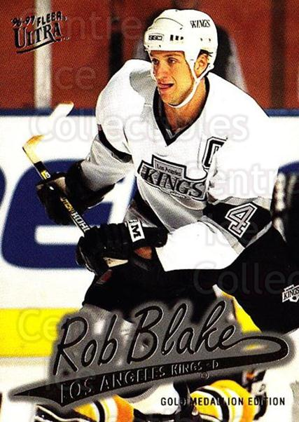 1996-97 Ultra Gold #77 Rob Blake<br/>6 In Stock - $2.00 each - <a href=https://centericecollectibles.foxycart.com/cart?name=1996-97%20Ultra%20Gold%20%2377%20Rob%20Blake...&quantity_max=6&price=$2.00&code=267772 class=foxycart> Buy it now! </a>