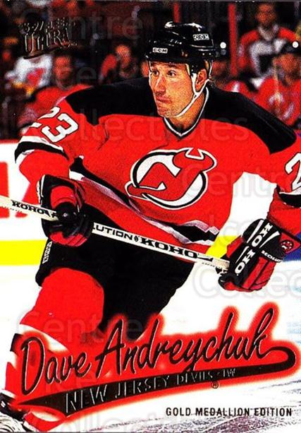 1996-97 Ultra Gold #92 Dave Andreychuk<br/>6 In Stock - $2.00 each - <a href=https://centericecollectibles.foxycart.com/cart?name=1996-97%20Ultra%20Gold%20%2392%20Dave%20Andreychuk...&quantity_max=6&price=$2.00&code=267787 class=foxycart> Buy it now! </a>