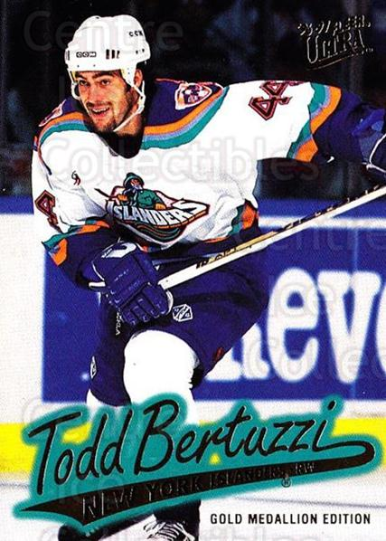 1996-97 Ultra Gold #99 Todd Bertuzzi<br/>6 In Stock - $2.00 each - <a href=https://centericecollectibles.foxycart.com/cart?name=1996-97%20Ultra%20Gold%20%2399%20Todd%20Bertuzzi...&quantity_max=6&price=$2.00&code=267794 class=foxycart> Buy it now! </a>
