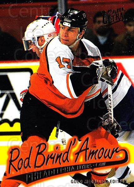 1996-97 Ultra Gold #121 Rod Brind'Amour<br/>3 In Stock - $2.00 each - <a href=https://centericecollectibles.foxycart.com/cart?name=1996-97%20Ultra%20Gold%20%23121%20Rod%20Brind'Amour...&quantity_max=3&price=$2.00&code=267816 class=foxycart> Buy it now! </a>