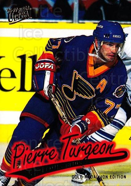 1996-97 Ultra Gold #148 Pierre Turgeon<br/>4 In Stock - $2.00 each - <a href=https://centericecollectibles.foxycart.com/cart?name=1996-97%20Ultra%20Gold%20%23148%20Pierre%20Turgeon...&quantity_max=4&price=$2.00&code=267843 class=foxycart> Buy it now! </a>