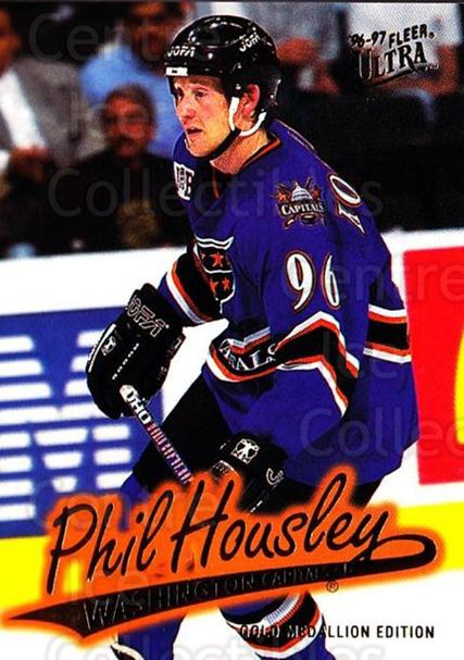 1996-97 Ultra Gold #176 Phil Housley<br/>7 In Stock - $2.00 each - <a href=https://centericecollectibles.foxycart.com/cart?name=1996-97%20Ultra%20Gold%20%23176%20Phil%20Housley...&quantity_max=7&price=$2.00&code=267871 class=foxycart> Buy it now! </a>
