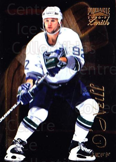 1996-97 Zenith #29 Jeff O'Neill<br/>7 In Stock - $1.00 each - <a href=https://centericecollectibles.foxycart.com/cart?name=1996-97%20Zenith%20%2329%20Jeff%20O'Neill...&quantity_max=7&price=$1.00&code=267904 class=foxycart> Buy it now! </a>