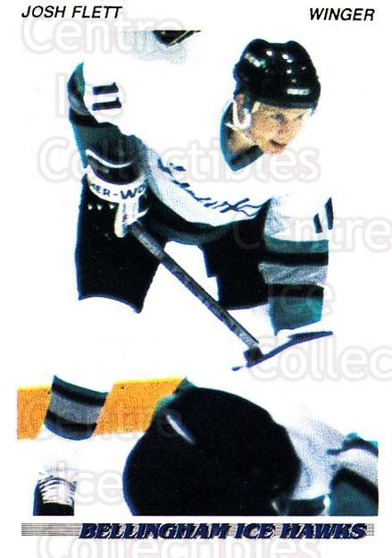 1992-93 British Columbia Junior Hockey League #6 Josh Flett<br/>3 In Stock - $2.00 each - <a href=https://centericecollectibles.foxycart.com/cart?name=1992-93%20British%20Columbia%20Junior%20Hockey%20League%20%236%20Josh%20Flett...&quantity_max=3&price=$2.00&code=268534 class=foxycart> Buy it now! </a>