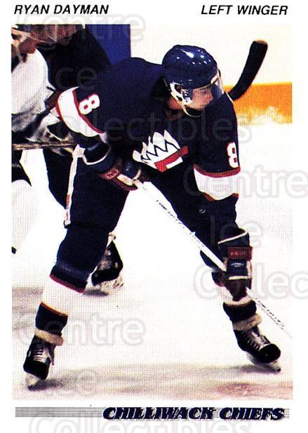1992-93 British Columbia Junior Hockey League #31 Ryan Dayman<br/>2 In Stock - $2.00 each - <a href=https://centericecollectibles.foxycart.com/cart?name=1992-93%20British%20Columbia%20Junior%20Hockey%20League%20%2331%20Ryan%20Dayman...&quantity_max=2&price=$2.00&code=268559 class=foxycart> Buy it now! </a>