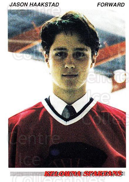 1992-93 British Columbia Junior Hockey League #47 Jason Haakstad<br/>1 In Stock - $2.00 each - <a href=https://centericecollectibles.foxycart.com/cart?name=1992-93%20British%20Columbia%20Junior%20Hockey%20League%20%2347%20Jason%20Haakstad...&price=$2.00&code=268575 class=foxycart> Buy it now! </a>