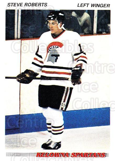 1992-93 British Columbia Junior Hockey League #50 Steve Roberts<br/>1 In Stock - $2.00 each - <a href=https://centericecollectibles.foxycart.com/cart?name=1992-93%20British%20Columbia%20Junior%20Hockey%20League%20%2350%20Steve%20Roberts...&price=$2.00&code=268578 class=foxycart> Buy it now! </a>