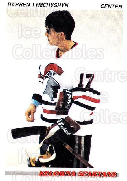 1992-93 British Columbia Junior Hockey League #56 Darren Tymchyshyn<br/>2 In Stock - $2.00 each - <a href=https://centericecollectibles.foxycart.com/cart?name=1992-93%20British%20Columbia%20Junior%20Hockey%20League%20%2356%20Darren%20Tymchysh...&price=$2.00&code=268584 class=foxycart> Buy it now! </a>