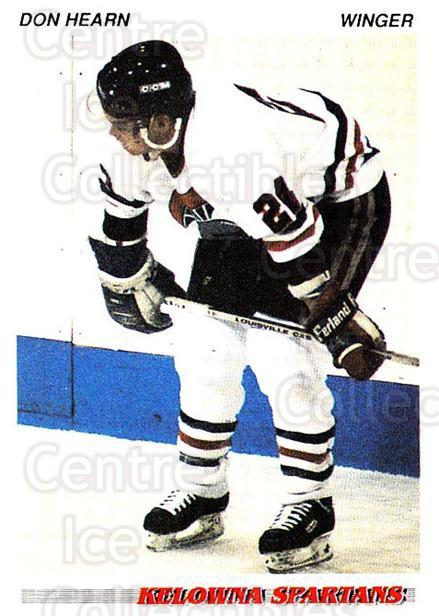 1992-93 British Columbia Junior Hockey League #58 Don Hearn<br/>1 In Stock - $2.00 each - <a href=https://centericecollectibles.foxycart.com/cart?name=1992-93%20British%20Columbia%20Junior%20Hockey%20League%20%2358%20Don%20Hearn...&price=$2.00&code=268586 class=foxycart> Buy it now! </a>
