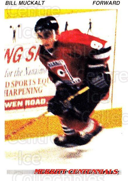 1992-93 British Columbia Junior Hockey League #77 Bill Muckalt<br/>2 In Stock - $2.00 each - <a href=https://centericecollectibles.foxycart.com/cart?name=1992-93%20British%20Columbia%20Junior%20Hockey%20League%20%2377%20Bill%20Muckalt...&quantity_max=2&price=$2.00&code=268605 class=foxycart> Buy it now! </a>