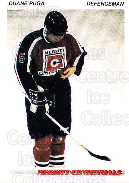 1992-93 British Columbia Junior Hockey League #79 Duane Puga<br/>3 In Stock - $2.00 each - <a href=https://centericecollectibles.foxycart.com/cart?name=1992-93%20British%20Columbia%20Junior%20Hockey%20League%20%2379%20Duane%20Puga...&quantity_max=3&price=$2.00&code=268607 class=foxycart> Buy it now! </a>