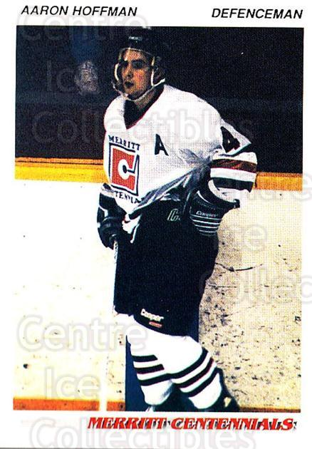 1992-93 British Columbia Junior Hockey League #80 Aaron Hoffman<br/>3 In Stock - $2.00 each - <a href=https://centericecollectibles.foxycart.com/cart?name=1992-93%20British%20Columbia%20Junior%20Hockey%20League%20%2380%20Aaron%20Hoffman...&quantity_max=3&price=$2.00&code=268608 class=foxycart> Buy it now! </a>