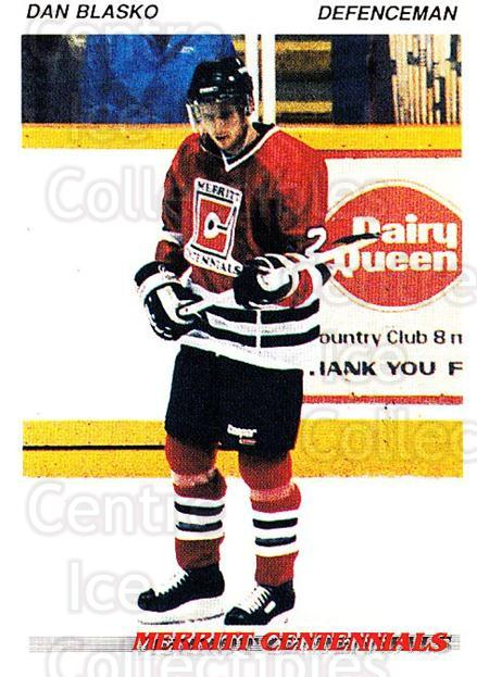 1992-93 British Columbia Junior Hockey League #81 Dan Blasko<br/>1 In Stock - $2.00 each - <a href=https://centericecollectibles.foxycart.com/cart?name=1992-93%20British%20Columbia%20Junior%20Hockey%20League%20%2381%20Dan%20Blasko...&quantity_max=1&price=$2.00&code=268609 class=foxycart> Buy it now! </a>