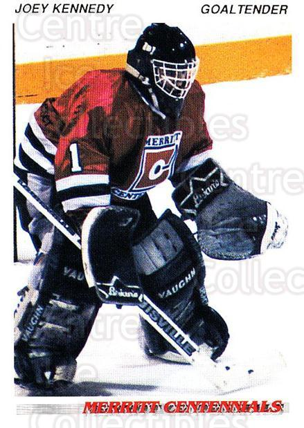 1992-93 British Columbia Junior Hockey League #89 Joey Kennedy<br/>2 In Stock - $2.00 each - <a href=https://centericecollectibles.foxycart.com/cart?name=1992-93%20British%20Columbia%20Junior%20Hockey%20League%20%2389%20Joey%20Kennedy...&quantity_max=2&price=$2.00&code=268617 class=foxycart> Buy it now! </a>