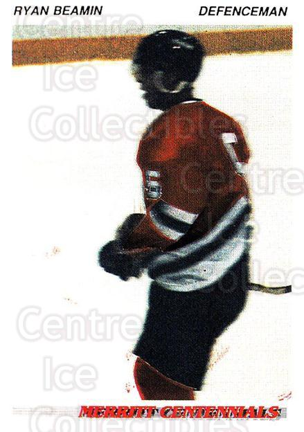 1992-93 British Columbia Junior Hockey League #92 Ryan Beamin<br/>3 In Stock - $2.00 each - <a href=https://centericecollectibles.foxycart.com/cart?name=1992-93%20British%20Columbia%20Junior%20Hockey%20League%20%2392%20Ryan%20Beamin...&quantity_max=3&price=$2.00&code=268620 class=foxycart> Buy it now! </a>