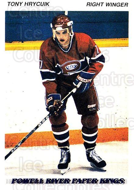 1992-93 British Columbia Junior Hockey League #144 Tony Hrycuik<br/>3 In Stock - $2.00 each - <a href=https://centericecollectibles.foxycart.com/cart?name=1992-93%20British%20Columbia%20Junior%20Hockey%20League%20%23144%20Tony%20Hrycuik...&price=$2.00&code=268672 class=foxycart> Buy it now! </a>