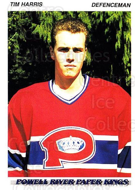 1992-93 British Columbia Junior Hockey League #149 Tim Harris<br/>2 In Stock - $2.00 each - <a href=https://centericecollectibles.foxycart.com/cart?name=1992-93%20British%20Columbia%20Junior%20Hockey%20League%20%23149%20Tim%20Harris...&price=$2.00&code=268677 class=foxycart> Buy it now! </a>