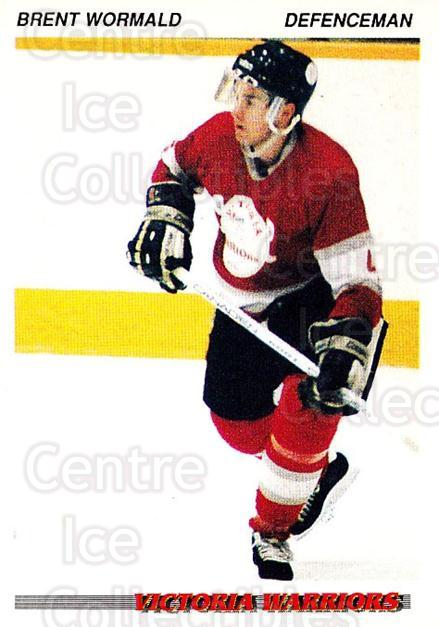 1992-93 British Columbia Junior Hockey League #226 Brent Wormald<br/>3 In Stock - $2.00 each - <a href=https://centericecollectibles.foxycart.com/cart?name=1992-93%20British%20Columbia%20Junior%20Hockey%20League%20%23226%20Brent%20Wormald...&quantity_max=3&price=$2.00&code=268754 class=foxycart> Buy it now! </a>