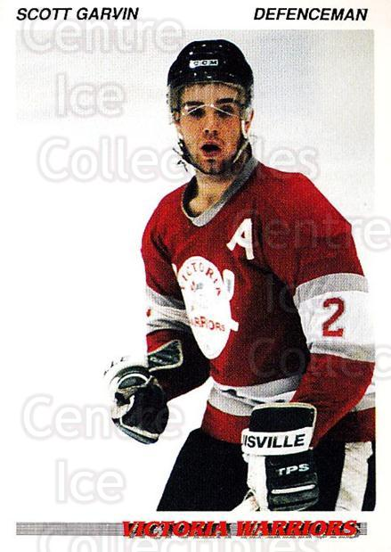 1992-93 British Columbia Junior Hockey League #231 Scott Garvin<br/>2 In Stock - $2.00 each - <a href=https://centericecollectibles.foxycart.com/cart?name=1992-93%20British%20Columbia%20Junior%20Hockey%20League%20%23231%20Scott%20Garvin...&quantity_max=2&price=$2.00&code=268759 class=foxycart> Buy it now! </a>