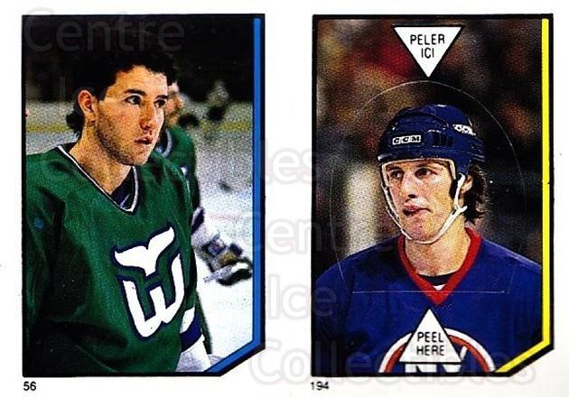 1986-87 O-Pee-Chee Stickers #056-194 Kevin Dineen, Mike Bossy<br/>2 In Stock - $2.00 each - <a href=https://centericecollectibles.foxycart.com/cart?name=1986-87%20O-Pee-Chee%20Stickers%20%23056-194%20Kevin%20Dineen,%20M...&quantity_max=2&price=$2.00&code=268788 class=foxycart> Buy it now! </a>