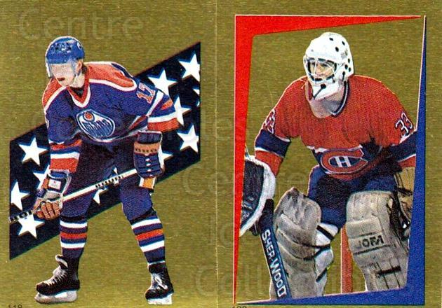 1986-87 O-Pee-Chee Stickers #118-132 Jarri Kurri, Patrick Roy<br/>1 In Stock - $15.00 each - <a href=https://centericecollectibles.foxycart.com/cart?name=1986-87%20O-Pee-Chee%20Stickers%20%23118-132%20Jarri%20Kurri,%20Pa...&quantity_max=1&price=$15.00&code=268793 class=foxycart> Buy it now! </a>