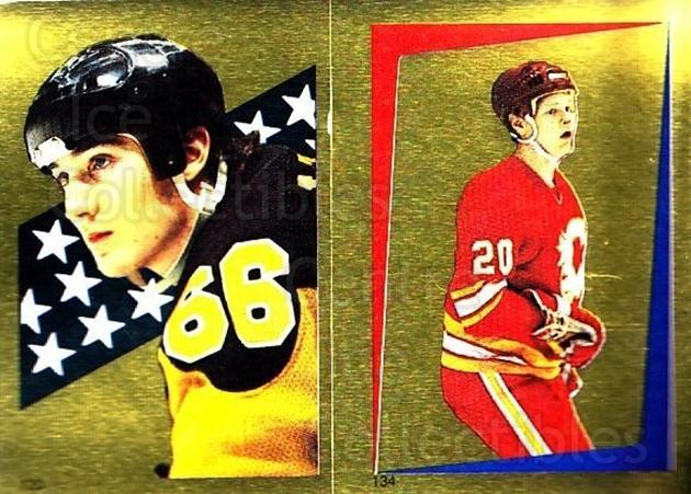 1986-87 O-Pee-Chee Stickers #120-134 Mario Lemieux, Gary Suter<br/>1 In Stock - $10.00 each - <a href=https://centericecollectibles.foxycart.com/cart?name=1986-87%20O-Pee-Chee%20Stickers%20%23120-134%20Mario%20Lemieux,%20...&quantity_max=1&price=$10.00&code=268795 class=foxycart> Buy it now! </a>