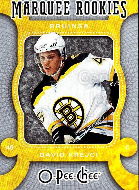 2007-08 O-Pee-Chee #511 David Krejci<br/>1 In Stock - $5.00 each - <a href=https://centericecollectibles.foxycart.com/cart?name=2007-08%20O-Pee-Chee%20%23511%20David%20Krejci...&quantity_max=1&price=$5.00&code=268820 class=foxycart> Buy it now! </a>