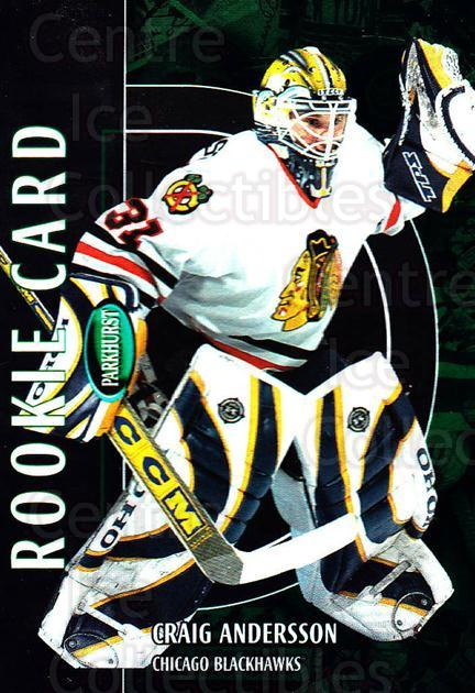2002-03 Parkhurst #227 Craig Anderson<br/>1 In Stock - $10.00 each - <a href=https://centericecollectibles.foxycart.com/cart?name=2002-03%20Parkhurst%20%23227%20Craig%20Anderson...&quantity_max=1&price=$10.00&code=268984 class=foxycart> Buy it now! </a>